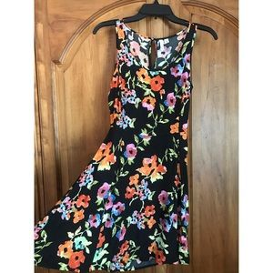 Nordstrom Frenchi Floral Dress Extra Small